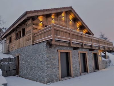 Photo for The EDELWEISS - Luxury Chalet, Jacuzzi and Sauna