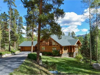 Photo for Updated Log Home with Gorgeous Views , Amazing Game Room and Seasonal Shuttle