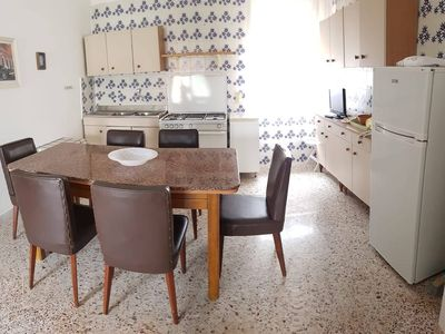 Photo for Fresh and bright apartment near the beach in San Foca