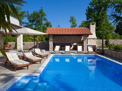 Photo for Luxury Villa Gabrijela, on the Island of Krk