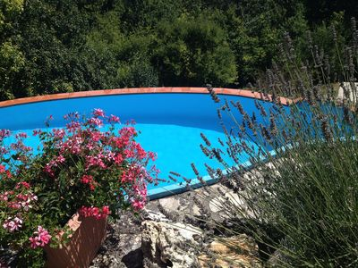Photo for Charming 400 Year Old Hilltop House With Beautiful Views And Pool