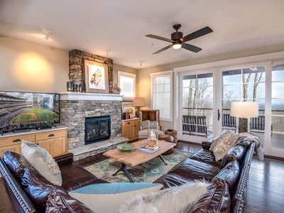 Condo in Blue Ridge Mtn Club with Views, King Master Suite, Fitness Facility, Miles of Trails!