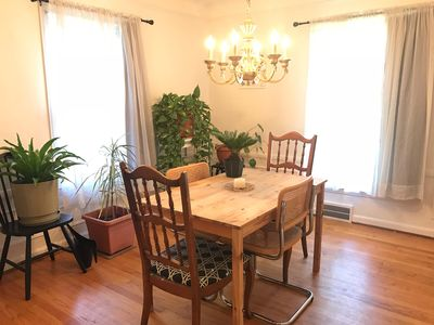 Photo for Cozy 3-Bedroom with Wood Fireplace near Waterfront