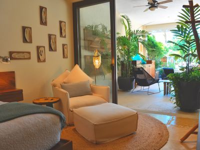 Photo for Elegant condo at Veneros Villas,  common pools , ocean views,