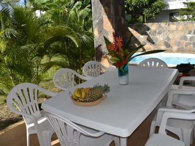 Photo for SUNNY TROPICAL 5 MN VILLA WALKING TO THE BEACH