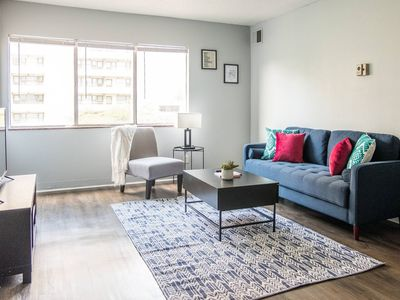 Photo for Exceptional 1BR Apt Near Medical District