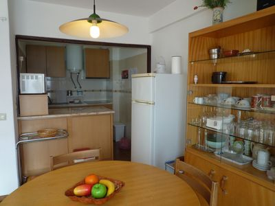 Dining Area and Functional Kitchen