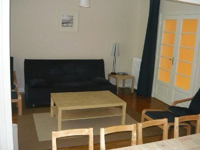 Photo for Saint Malo Intra Muros: Large apartment for 6 to 8 people in the heart of Sain