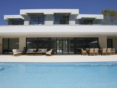 Photo for FAMILY  VILLA CLOSE TO THE BEACH AND WITH MINIFOOTBALL FIELD