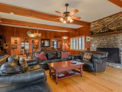 Photo for Mountain Getaway with Views, Hot Tub, Pool Table, Next to App Ski Mtn and Blue Ridge Parkway