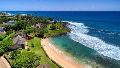 Photo for Hale Kai - Best Value Beachfront Home Steps from Beach