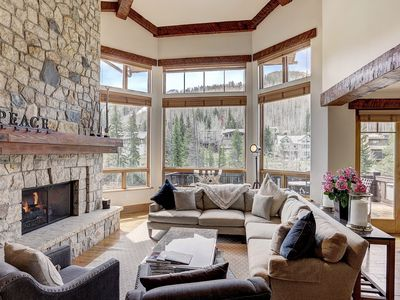 Photo for Private Gore Creek Townhome in Lionshead - Sleeps 10!
