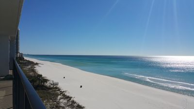 Photo for Updated Beach Front *60' GLASS & Views in 2 Master Suites *FREE Beach Chairs!