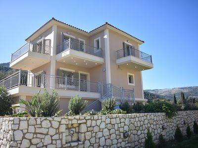 Photo for JUST LISTED-BRAND NEW Family Villa! Comfort and safety near Agia Effimia harbour