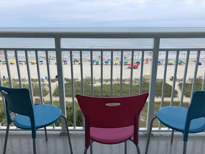 Photo for Oceanfront at Camelot - 6th Floor