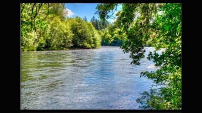 Picturesque isn't enough to describe your down river view.Upper Rogue River