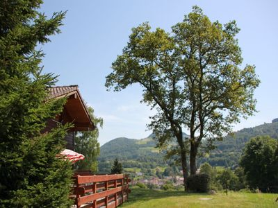 Photo for Rustic chalet with a dishwasher in the High Vosges