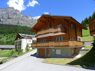 Photo for Vacation home Amitié in Leukerbad - 8 persons, 4 bedrooms