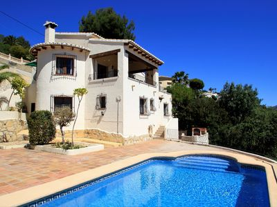 Photo for Villa UNDER MAJOR RENOVATION  with stunning sea views - 5 BR/5bathr - Moraira