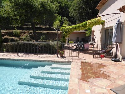 Photo for Haven of greenery! Great property with pool!
