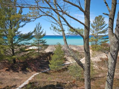 Photo for Beautiful, Lake Michigan Beachfront, 4B/2B Condo In Glen Arbor!