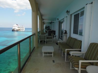 Photo for El Cantil THE MANSION - Splendid Oceanfront Penthouse - Best location in Cozumel