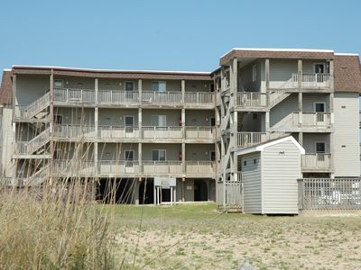 Photo for Enjoy a romantic beach vacation in this 2 bedroom oceanfront condo! - R-6