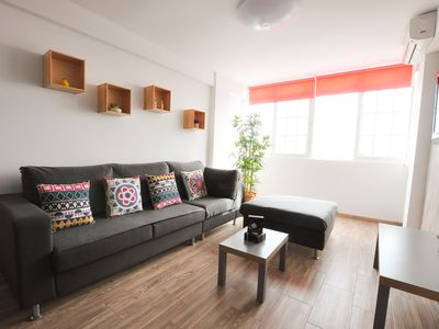 Photo for Cozy between beach and city center, 6pax, free WiFi