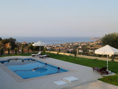 Photo for *NEW* 4-bed luxury villa with unrivalled mountain & beach views, PEACEFULNESS!!