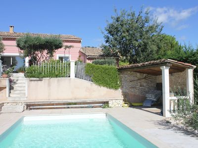 Photo for Provencal villa with private pool and beautiful view on the vineyards