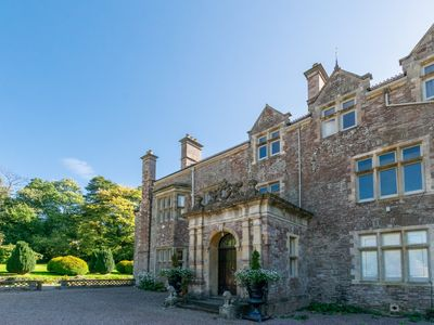 Photo for Located on a Grade II \* listed country estate just outside Usk in Monmouthshire this apartment is f