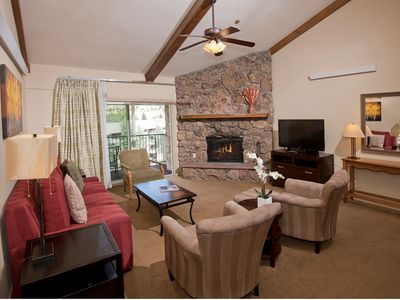Photo for 2BR, 2 Ba Condo, Avon Center 0.3 mi, Ski BC or Vail, Enjoy Hot tub/Pool