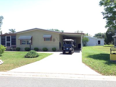 Photo for Beautifully decorated 2 Bdrm home w/Golf Cart, BBQ & WiFi included!