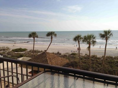 Photo for 2 Bedroom, 2 bath Beach Front Condo With Gourmet Kitchen