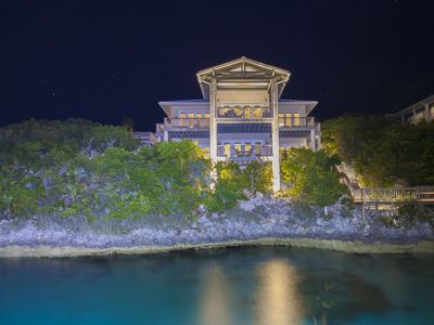 Photo for New 5 br, 5 bath luxury home overlooking Exuma Sound (ocean) and Bahama Bank