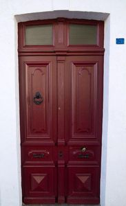 Original 19th century front door