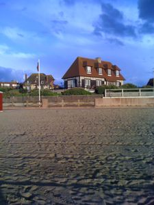 Photo for Norman house on the luxury beach (Deauville)