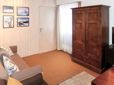 Photo for Thyon Apartment, Sleeps 4 with Pool and WiFi