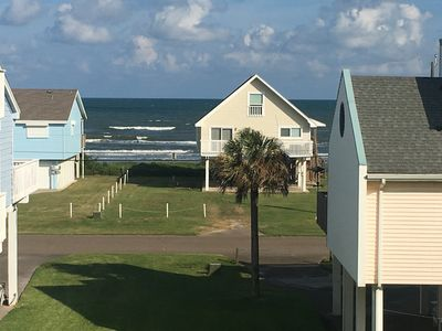 Photo for Toucan home - perfect ocean view location on the west side of Galveston