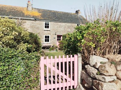 Photo for Luxury Cornish Cottage in Zennor (St Ives)  Sea Views, Tranquil Village Location
