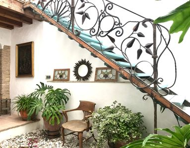 """Photo for Historic Home """"Casa del Teatro"""" In Central Location with Rooftop Terrace, Mountain Views & Wi-Fi; Pets Allowed"""