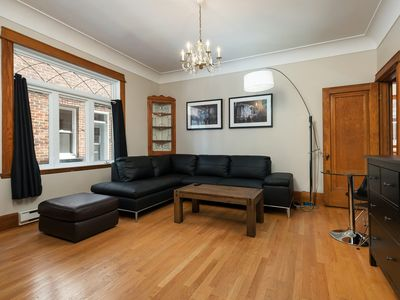 Photo for Amazing 5 bed room apartment - Plateau Montroyal