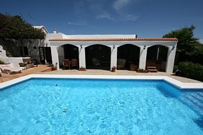 Photo for Canarian Villa With Heated Pool  And Jacuzzi totally private.