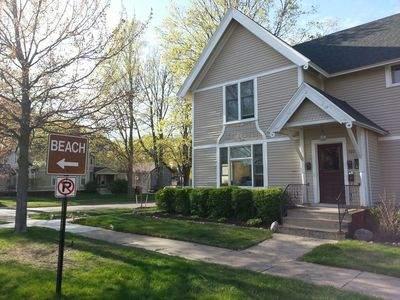 Photo for MICHIANA #4:  Two bedroom one bath in downtown South Haven!