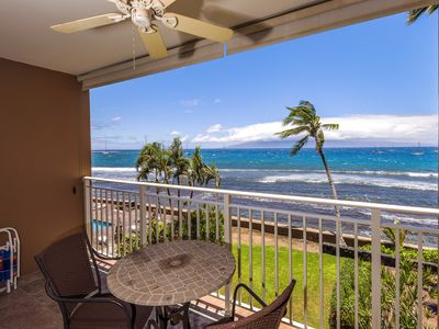 Photo for Oceanfront Property with Air Conditioning and Stunning Views