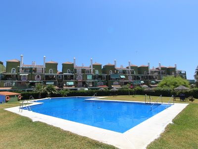 Photo for PLAYA GOLF APARTMENT. Family holidays in front of the beach.