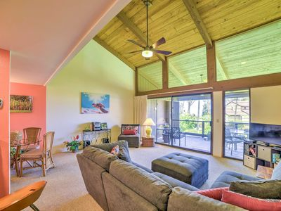 Photo for Resort Townhome on Golf Course w/ Lanai & Views!
