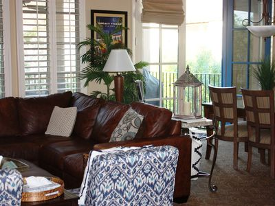 Photo for L@@K- VIEWS! GORGEOUS UPSTAIRS 3 BR VILLA LUXURY + LOCATION