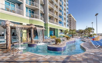 Photo for Myrtle Beach, SC: One Bedroom Ocean View with Pool, Lazy River, Beach & More!