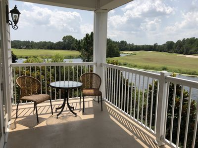 Photo for Pet friendly beautifully furnished luxury condo on award winning golf course!